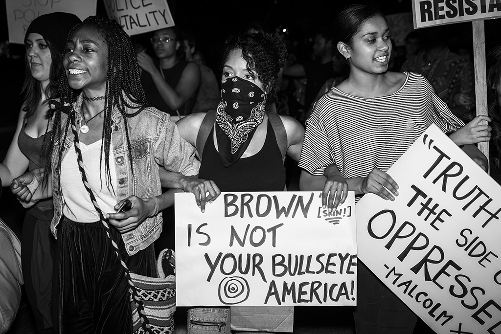 Los Angeles_Ferguson Protests_Theonepointeight -008