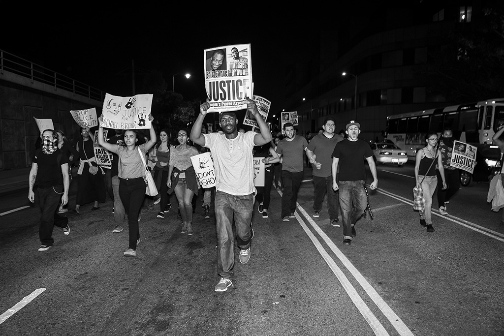 Los Angeles_Ferguson Protests_Theonepointeight -010