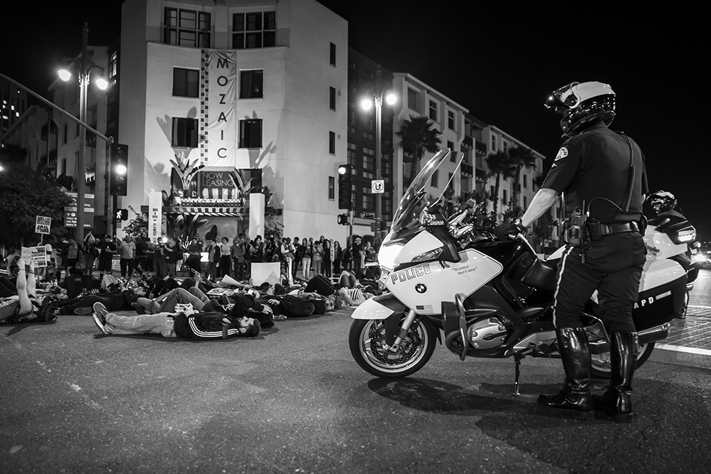 Los Angeles_Ferguson Protests_Theonepointeight -014